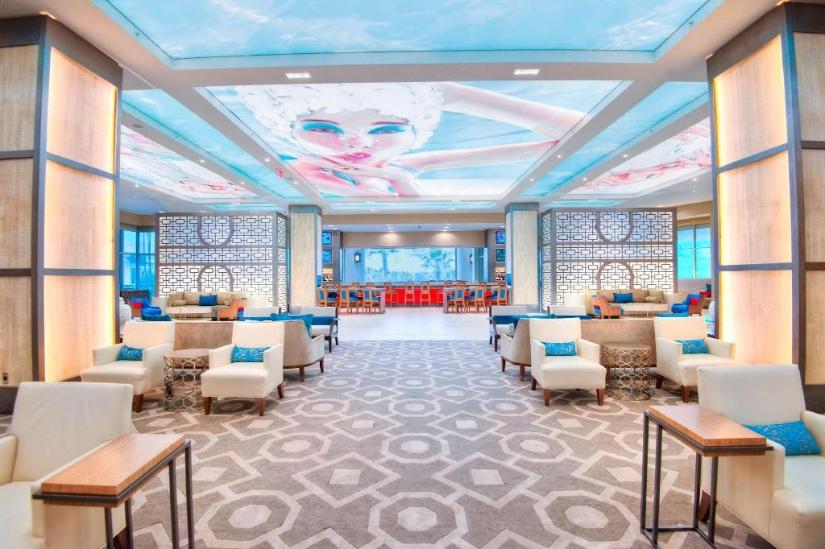 HILTON ORLANDO BONNET CREEK Lounge Area