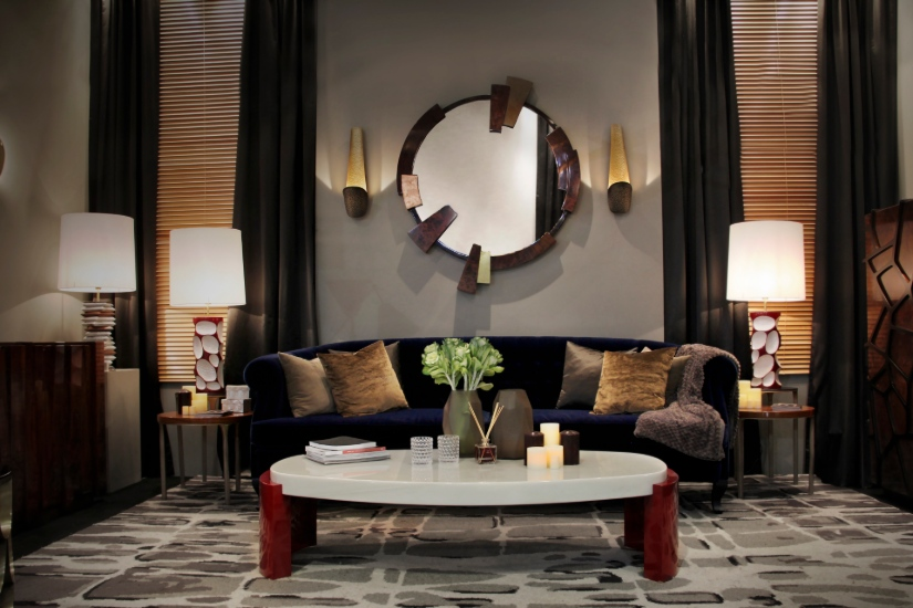 Lounge area center table ideas