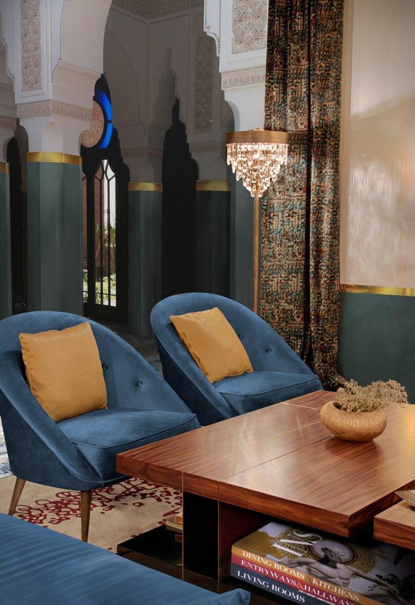 Lounge area decor