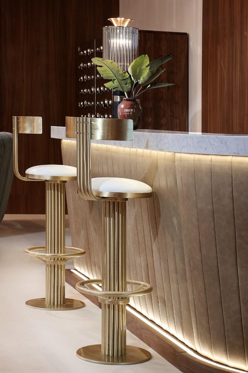 Luxury bar chair