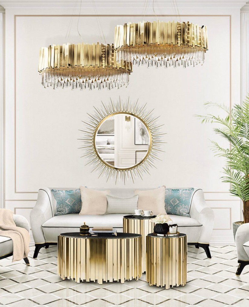 Luxury modern table