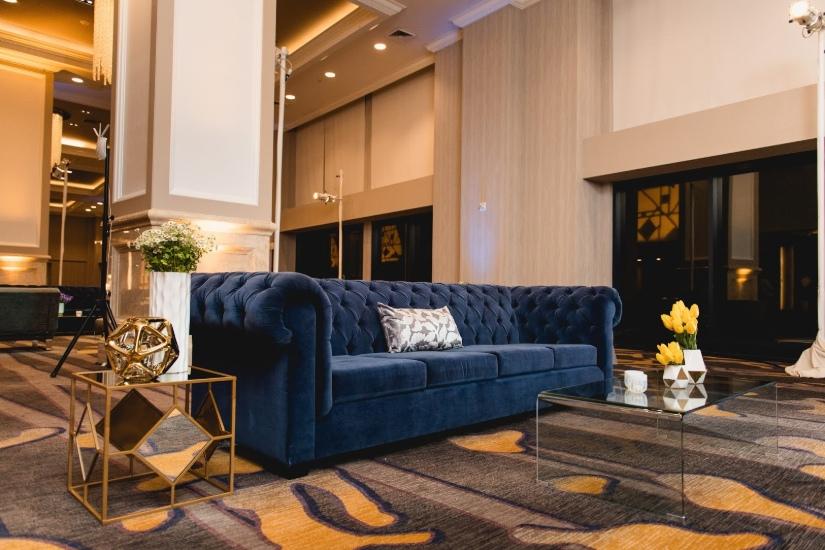 Mid-century modern lounge