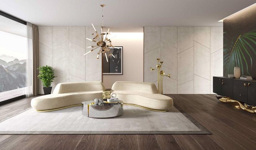 Modern classic lounge