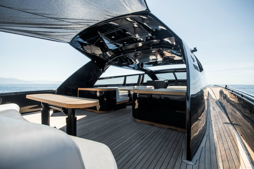 Yacht design trends Joseph Dirand exterior cockpit layout