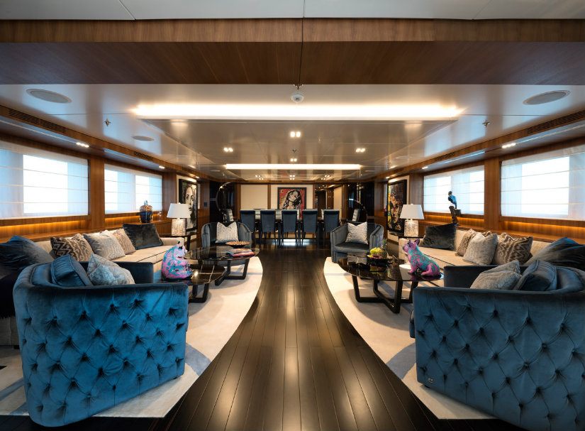 Stylish yachts design trends