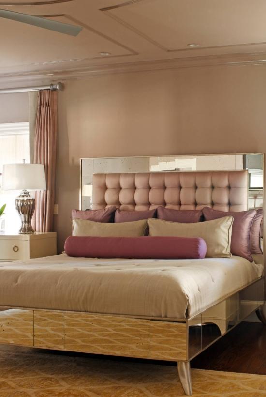 Art deco bedroom interior design