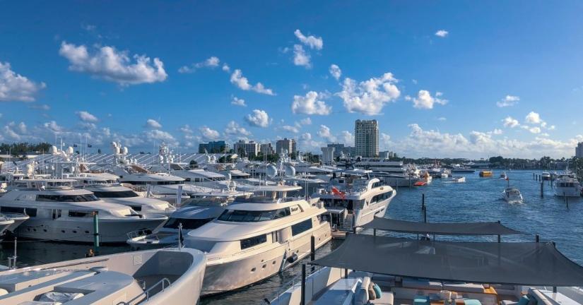 Fort Lauderdale International Boat Show Yacht Village