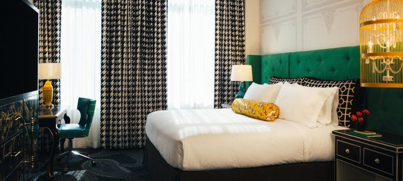 Hotel Monaco Bedroom Decor