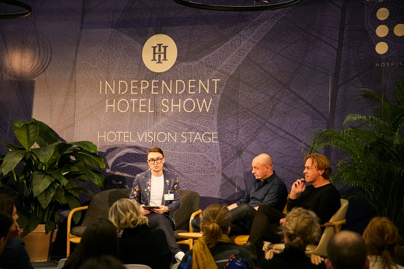 Independence Hotel Show discussion