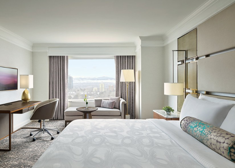 JW Marriott Hotel Bedroom