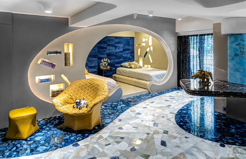 Luxury hotel ideas - peek into the most exotic Mumbai apartment (3)
