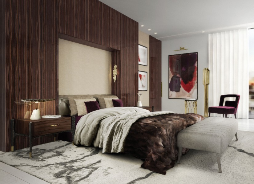 Modern bedroom lamp ideas
