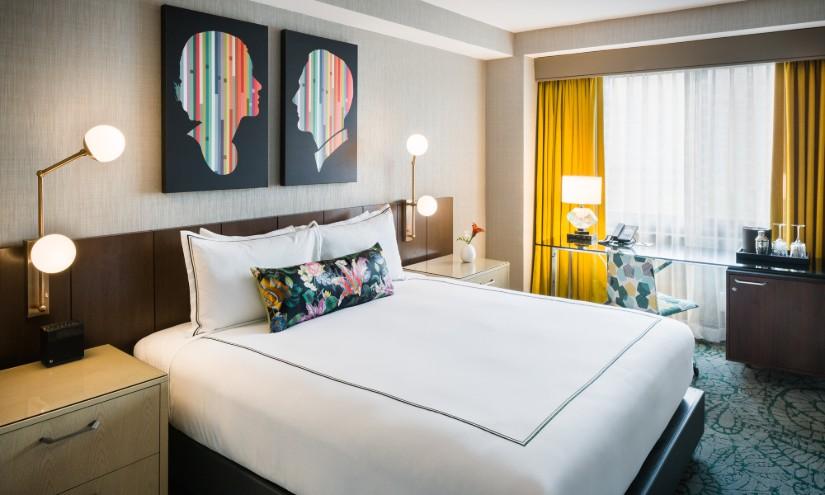 The Darcy Hotel Bedroom Decor