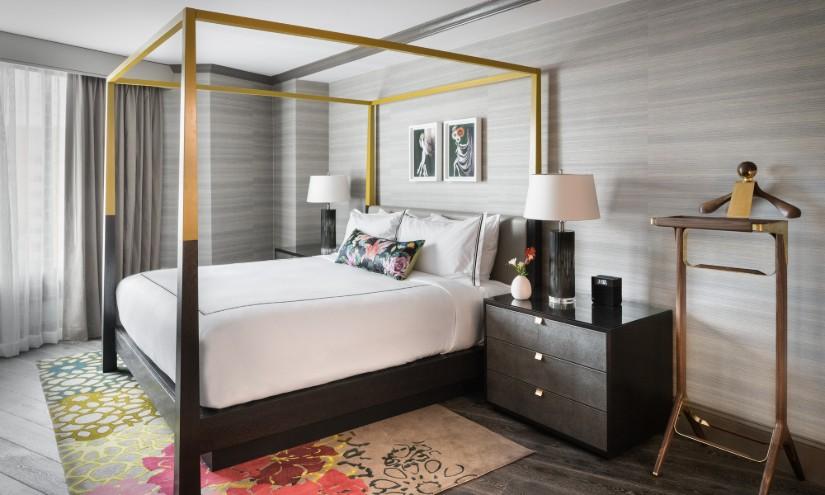 The Darcy Hotel Bedroom Design