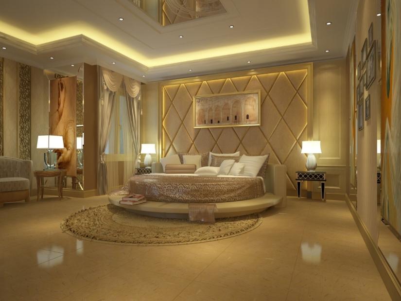 italian bedroom style
