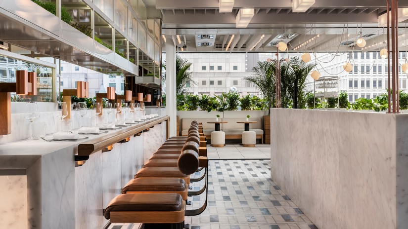 Restaurant Design ideas at Four Seasons Montreal
